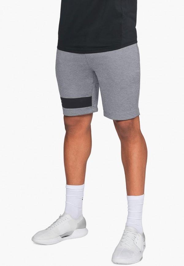 Купить Шорты спортивные Under Armour, MK1 Terry Short, UN001EMBVBR1, серый, Осень-зима 2018/2019
