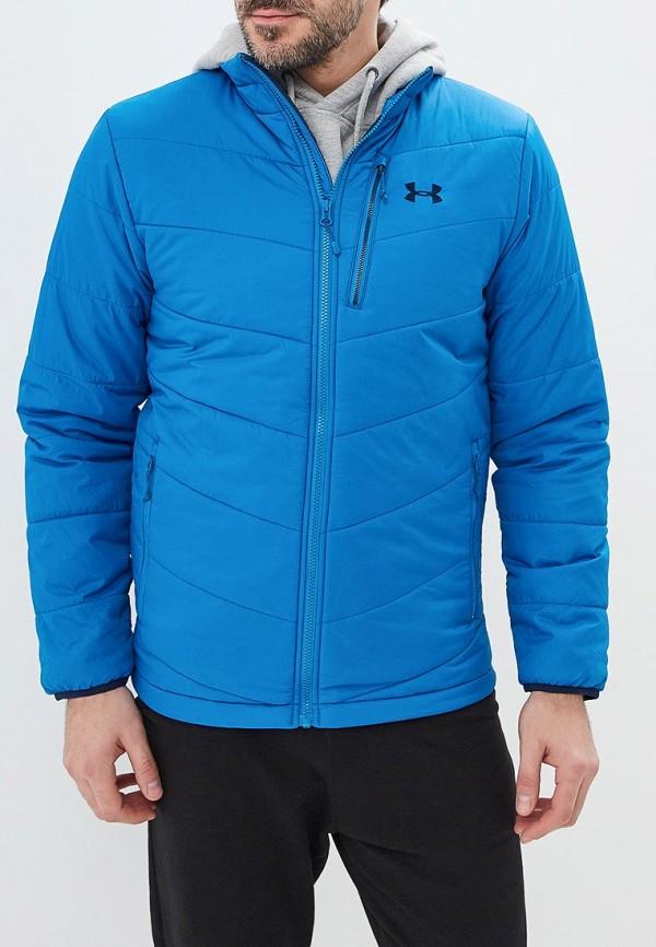 Куртка утепленная Under Armour, FC Insulated Jacket, un001embvbz3, синий, Осень-зима 2018/2019  - купить со скидкой