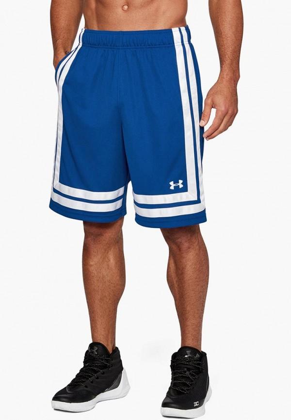 Купить Шорты спортивные Under Armour, UA Baseline 10in Short 18, un001embvdd5, синий, Осень-зима 2018/2019