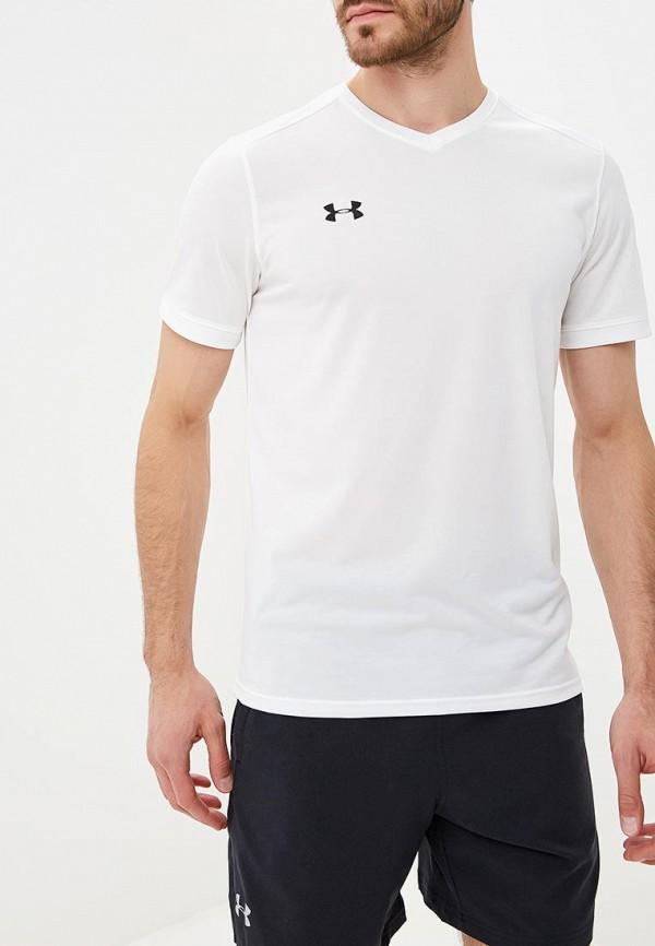 Купить Футболка спортивная Under Armour, Threadborne Match Jersey, UN001EMCUIL0, белый, Осень-зима 2018/2019
