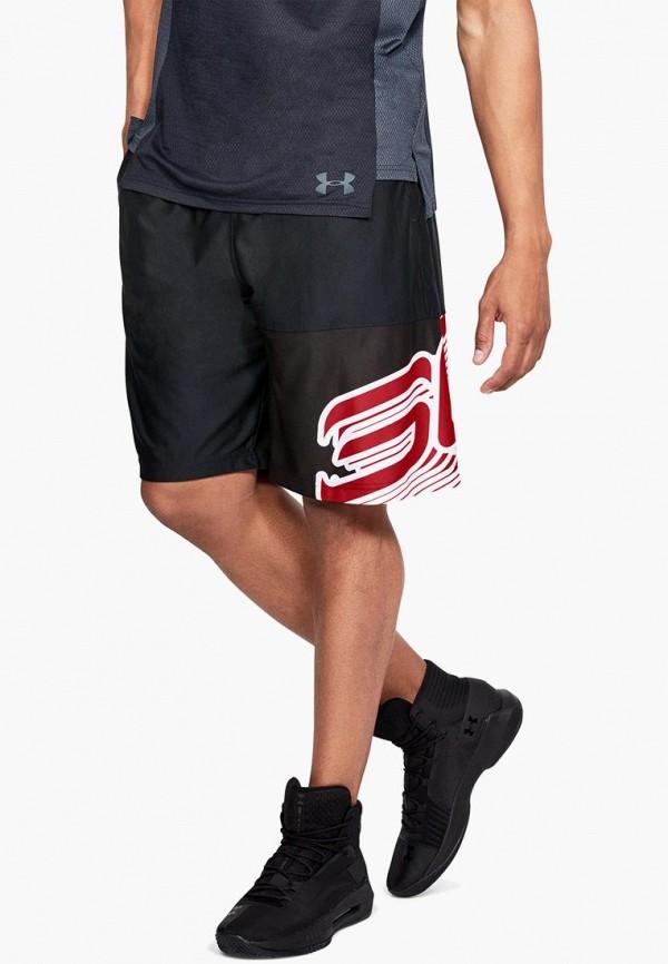 Купить Шорты спортивные Under Armour, SC30 Core 11in Short, un001emcuil3, черный, Осень-зима 2018/2019