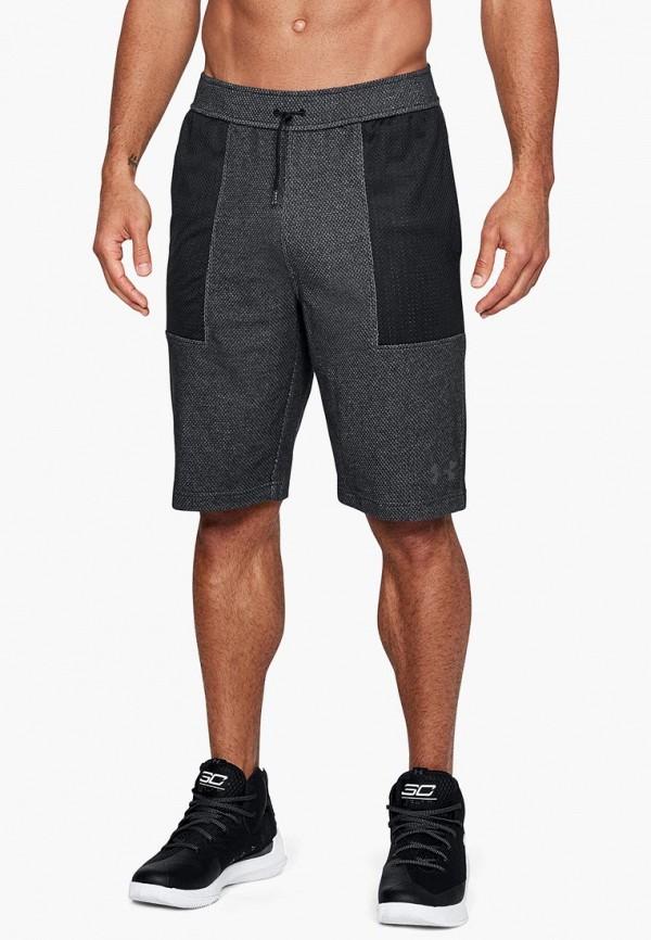 Купить Шорты спортивные Under Armour, UA Pursuit Fleece Short, UN001EMCUIL5, серый, Осень-зима 2018/2019