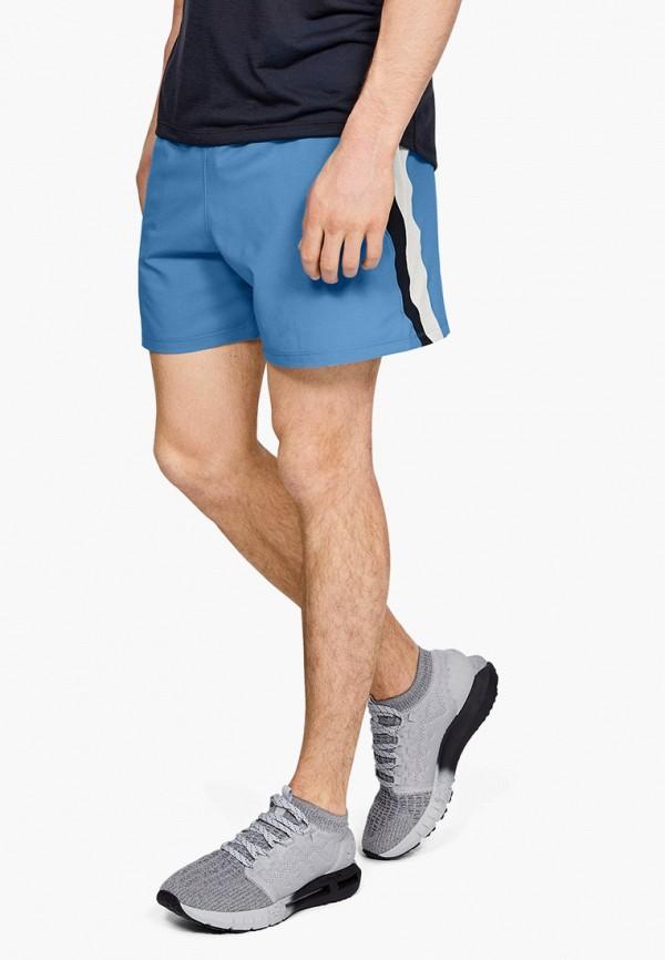 мужские спортивные спортивные шорты under armour, голубые