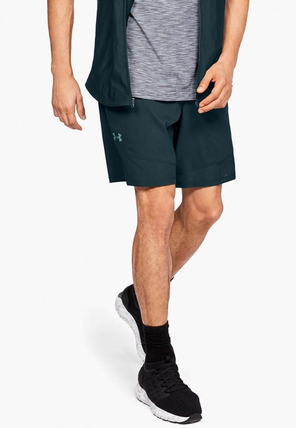 мужские спортивные спортивные шорты under armour, синие