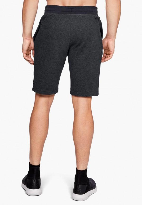 Фото 3 - мужские спортивные шорты Under Armour черного цвета