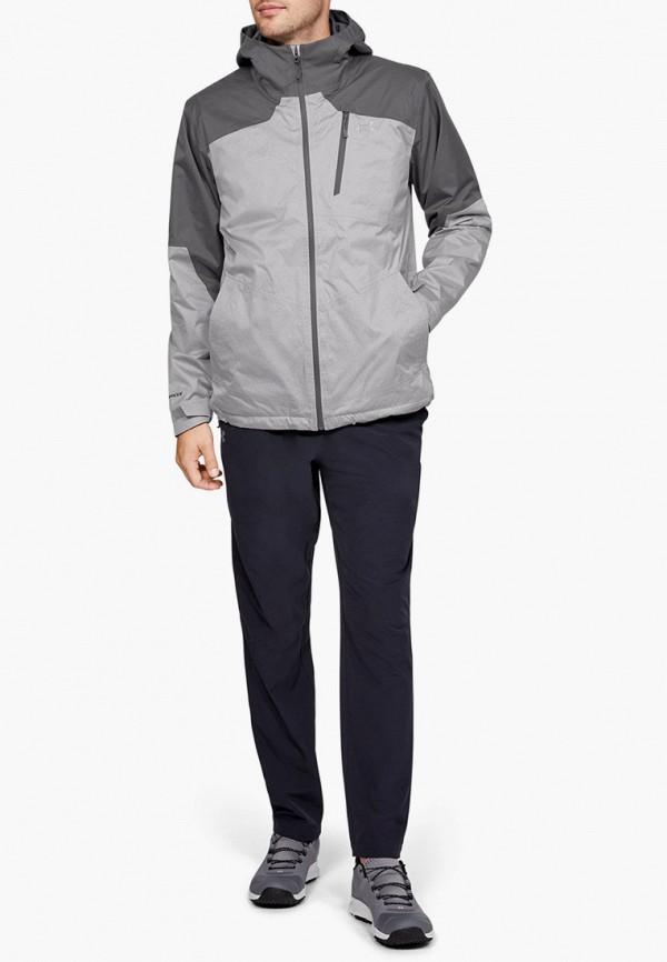 Фото 2 - Куртку утепленная Under Armour серого цвета