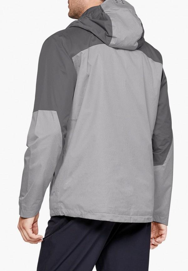 Фото 3 - Куртку утепленная Under Armour серого цвета