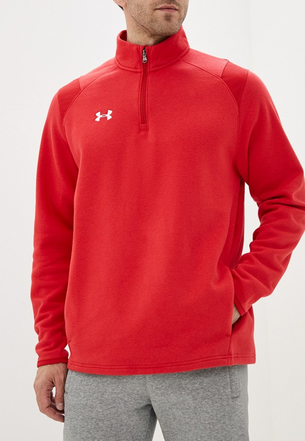 мужская олимпийка under armour, красная