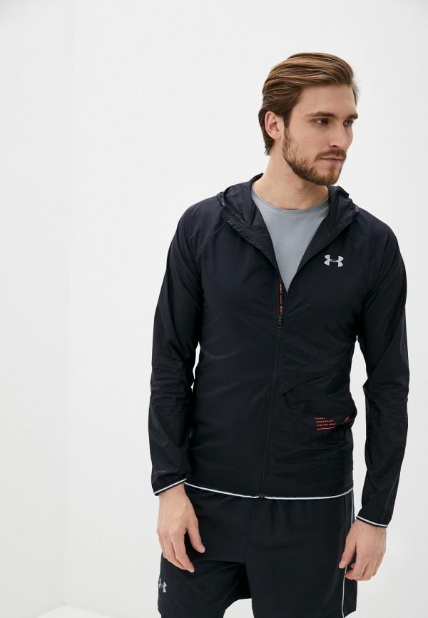 мужская куртка under armour, черная