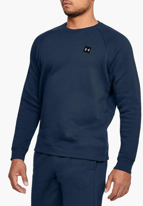 мужской свитшот under armour, синий