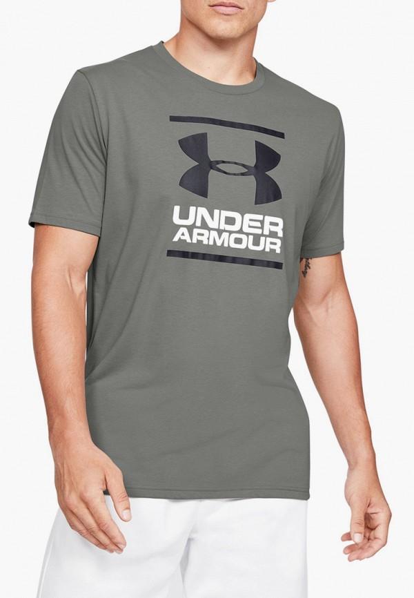 мужская спортивные футболка under armour, хаки