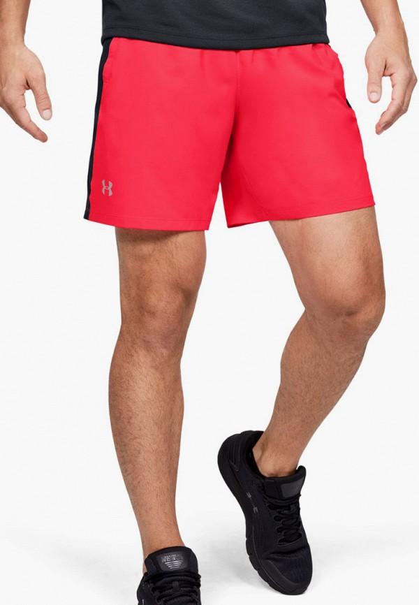 мужские спортивные шорты under armour, красные