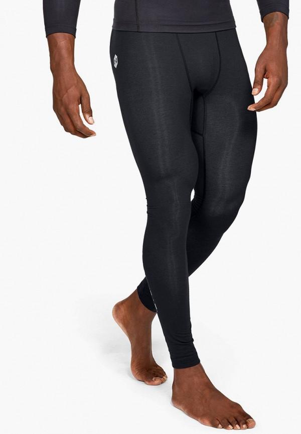 мужские спортивные леггинсы under armour, черные