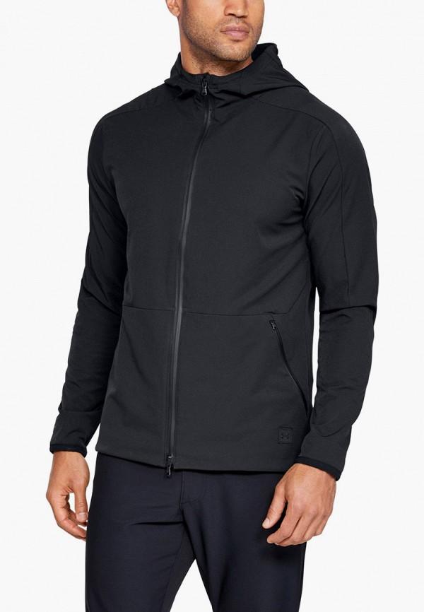 мужская толстовка under armour, черная