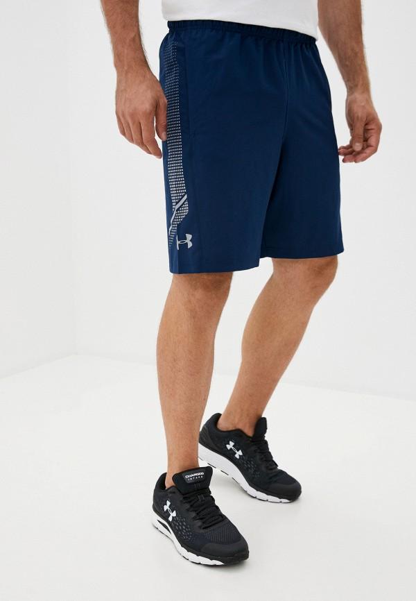 мужские спортивные шорты under armour, синие