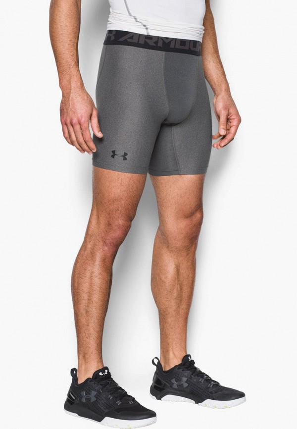 мужские спортивные шорты under armour, серые