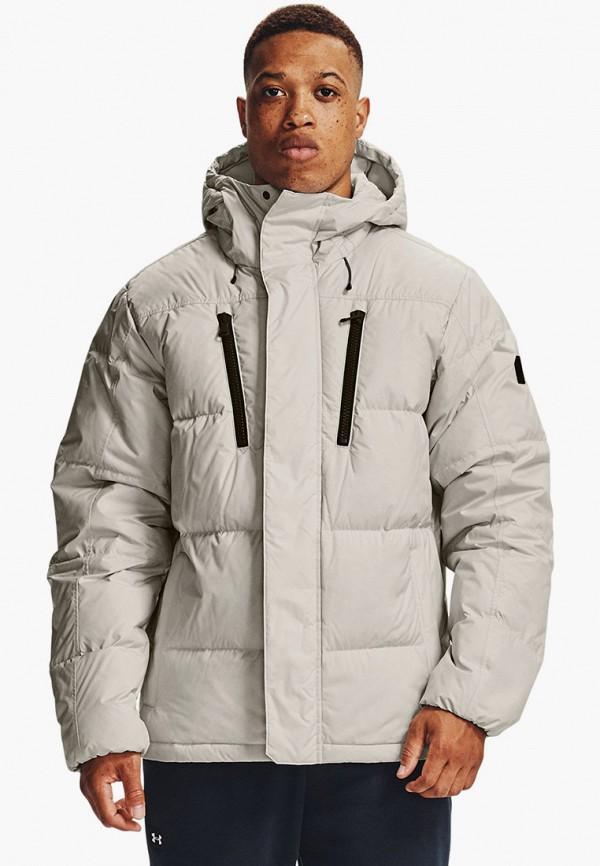мужская куртка under armour, белая