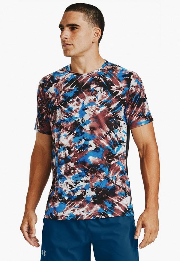 мужская спортивные футболка under armour, разноцветная