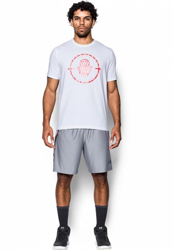 Купить Футболка спортивная Under Armour, UA Center Court SS Tee, un001emxrw47, белый, Осень-зима 2017/2018