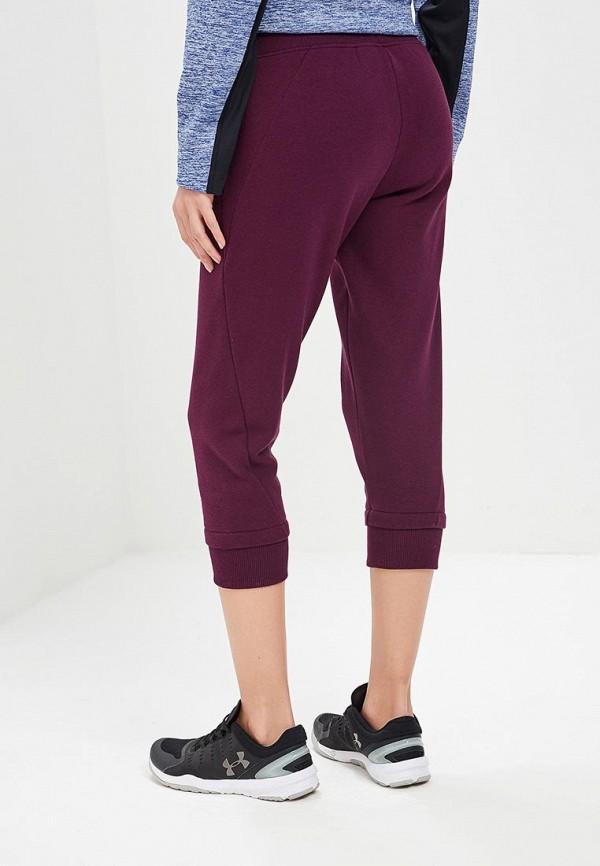 Фото 3 - Бриджи Under Armour фиолетового цвета