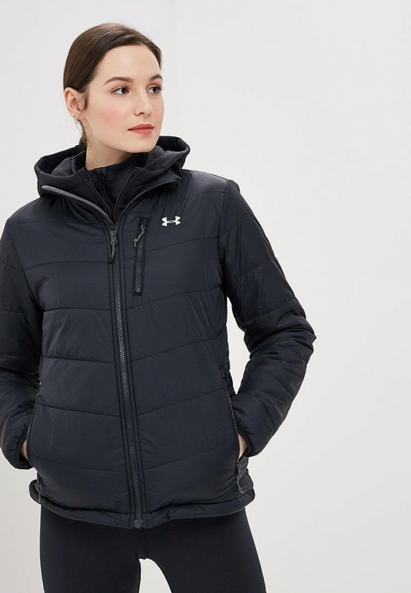 Купить Куртка утепленная Under Armour, FC Insulated Jacket, un001ewbvdk9, черный, Осень-зима 2018/2019