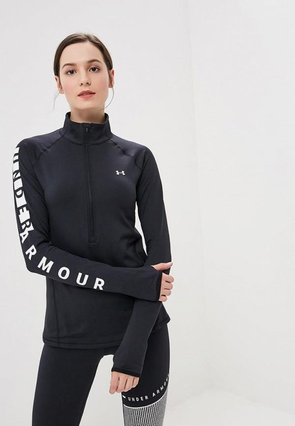 Купить Лонгслив спортивный Under Armour, UA CG Armour Graphic 1/2 Zip, un001ewbvdm0, черный, Осень-зима 2018/2019