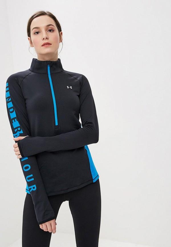 Купить Лонгслив спортивный Under Armour, UA CG Armour Graphic 1/2 Zip, un001ewbvdm1, черный, Осень-зима 2018/2019