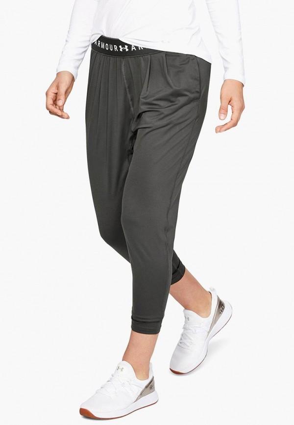 женские спортивные спортивные брюки under armour, серые