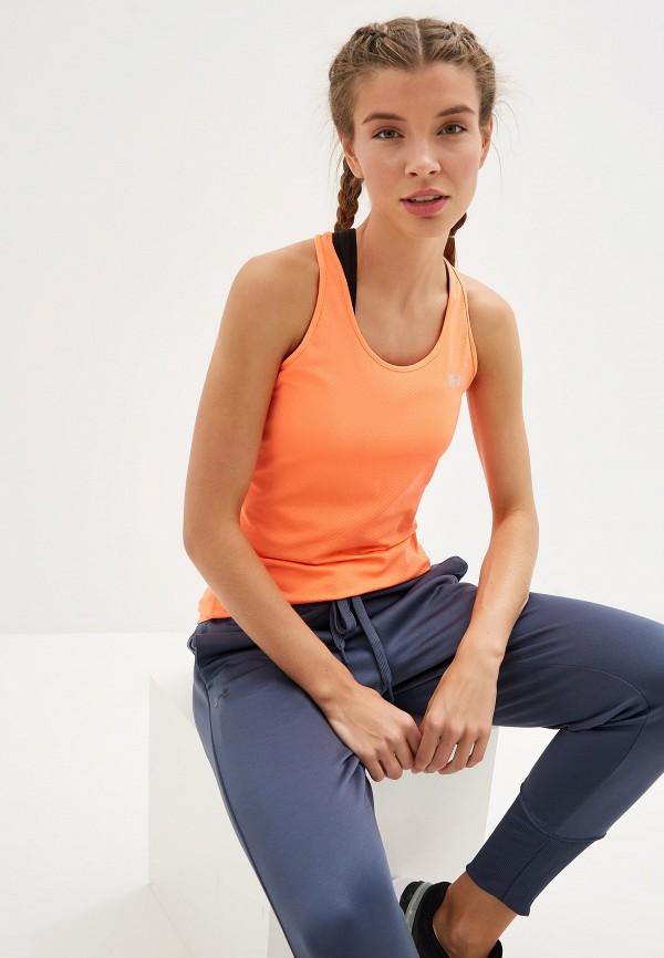 Фото - Майку спортивная Under Armour оранжевого цвета