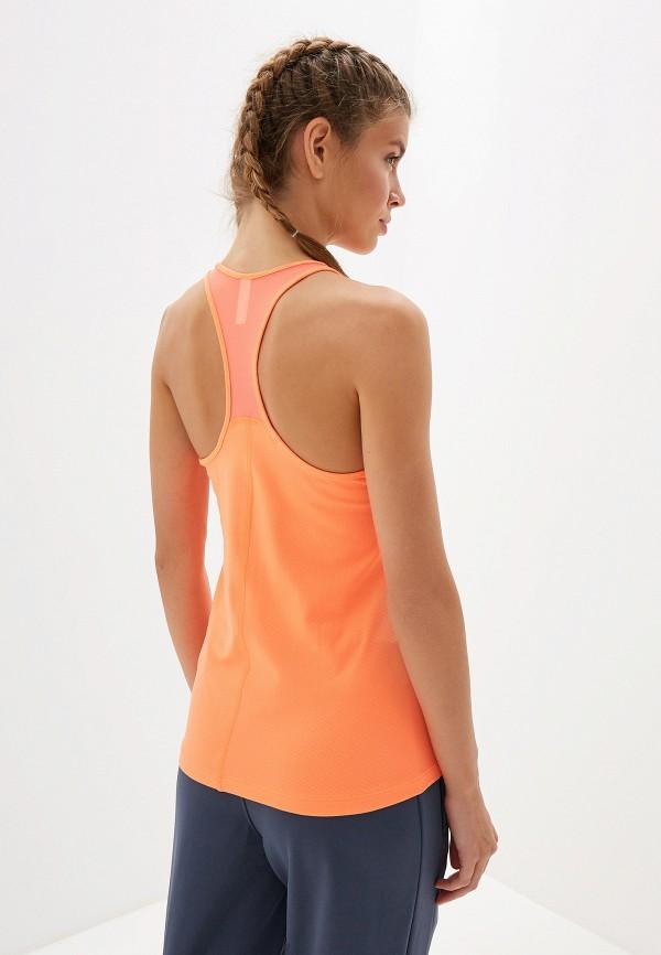 Фото 3 - Майку спортивная Under Armour оранжевого цвета