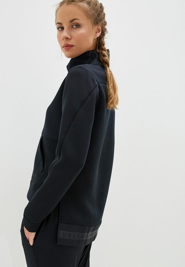 женский свитшот under armour, черный