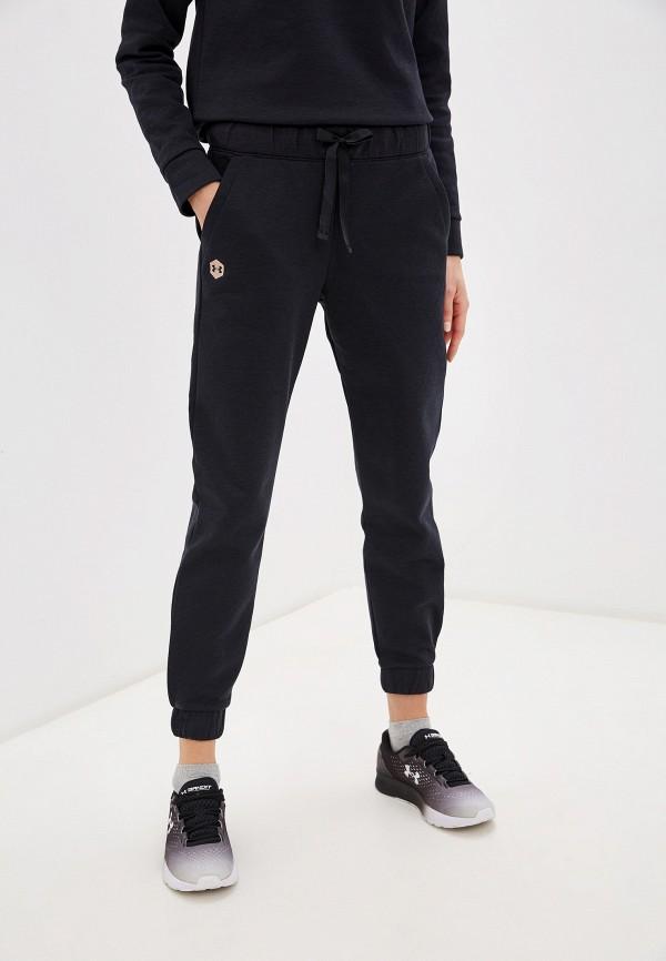 женские спортивные брюки under armour, черные