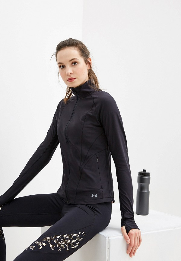 женская олимпийка under armour, черная