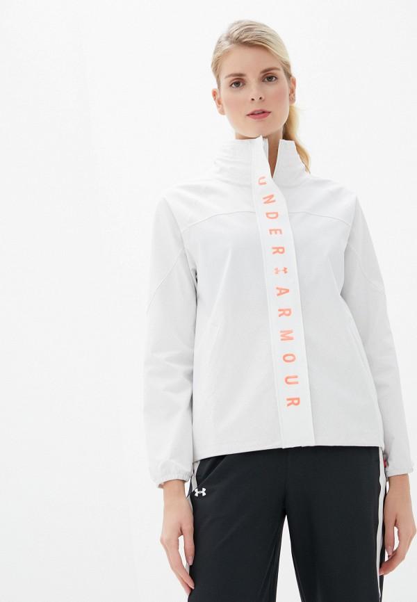женская куртка under armour, белая