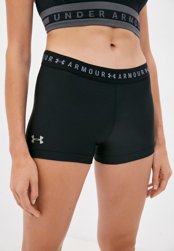 женские спортивные шорты under armour, черные