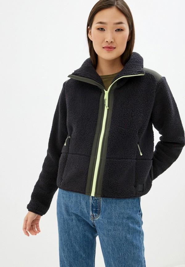 женская куртка under armour, черная
