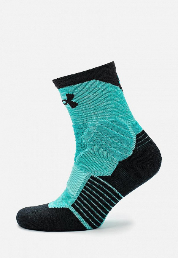 мужские носки under armour, бирюзовые