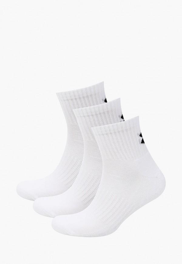 женские носки under armour, белые