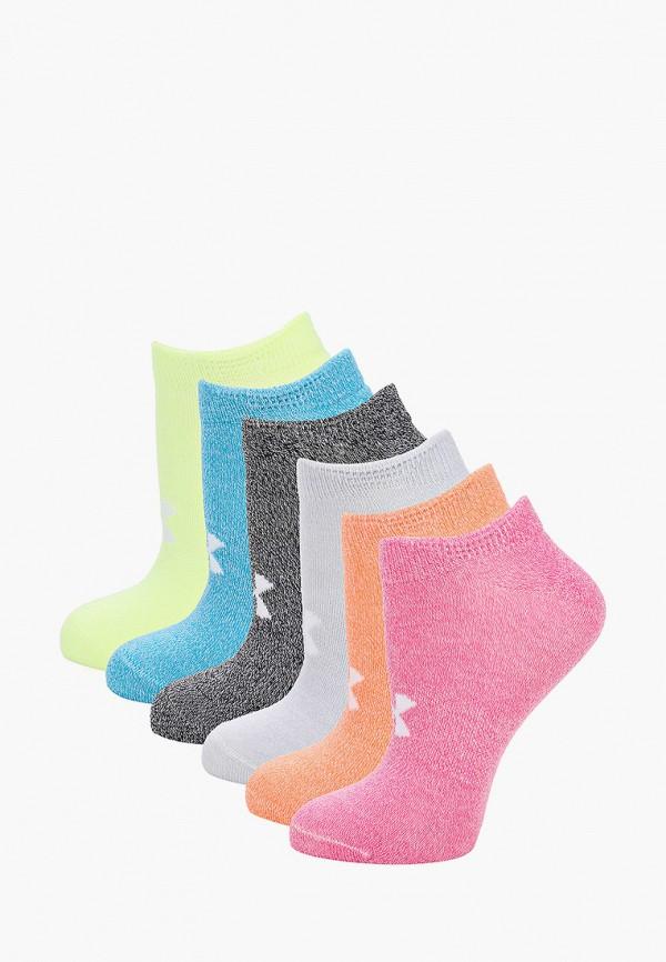 женские носки under armour, разноцветные