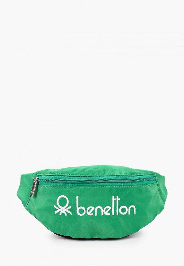 сумка united colors of benetton для мальчика, зеленая