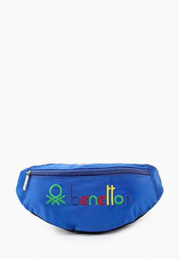 сумка united colors of benetton для мальчика, синяя