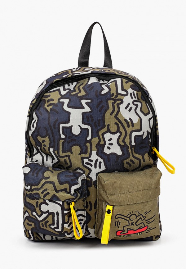 рюкзак united colors of benetton для мальчика, хаки