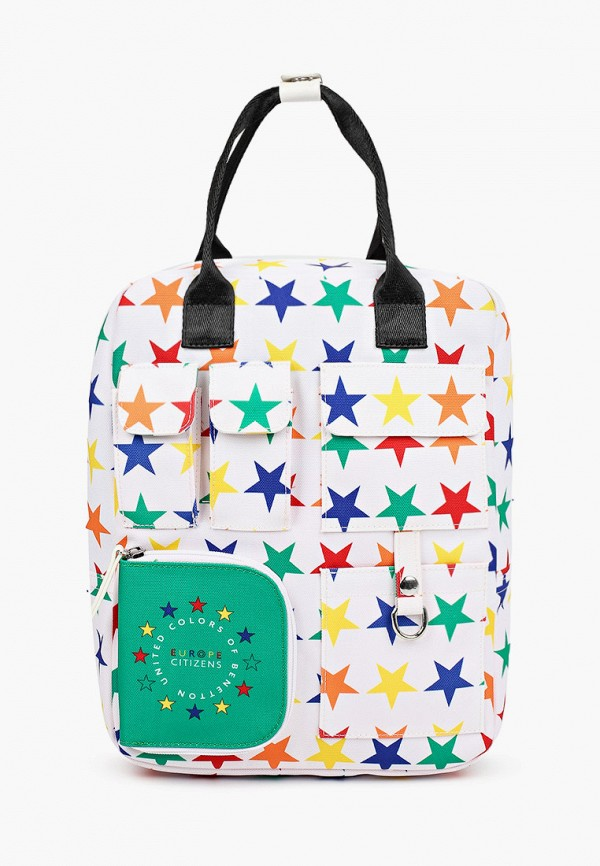 рюкзак united colors of benetton для мальчика, белый