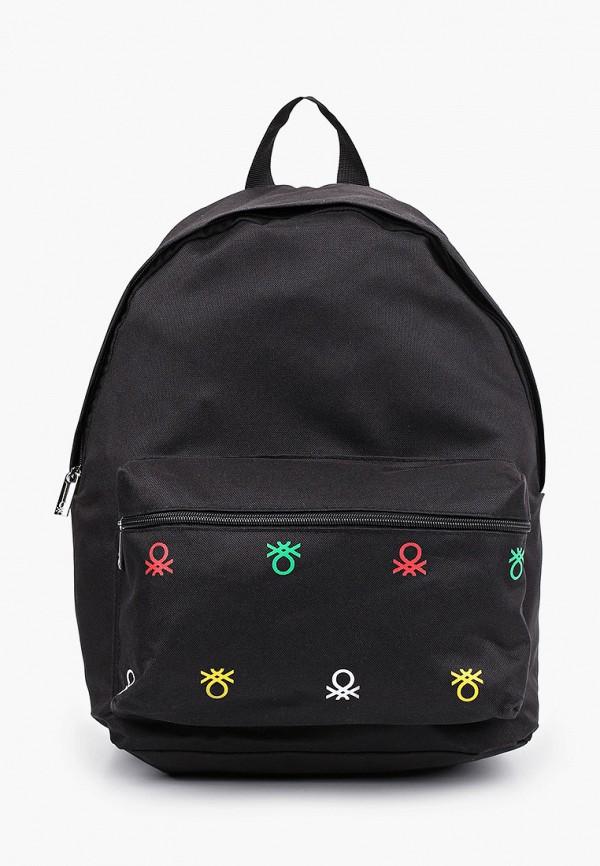 рюкзак united colors of benetton для мальчика, черный