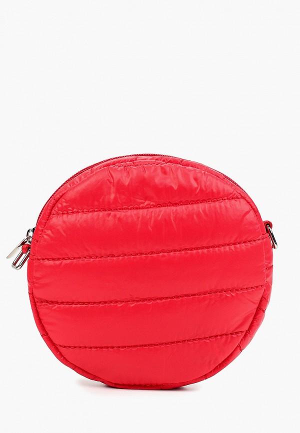 сумка united colors of benetton для девочки, красная