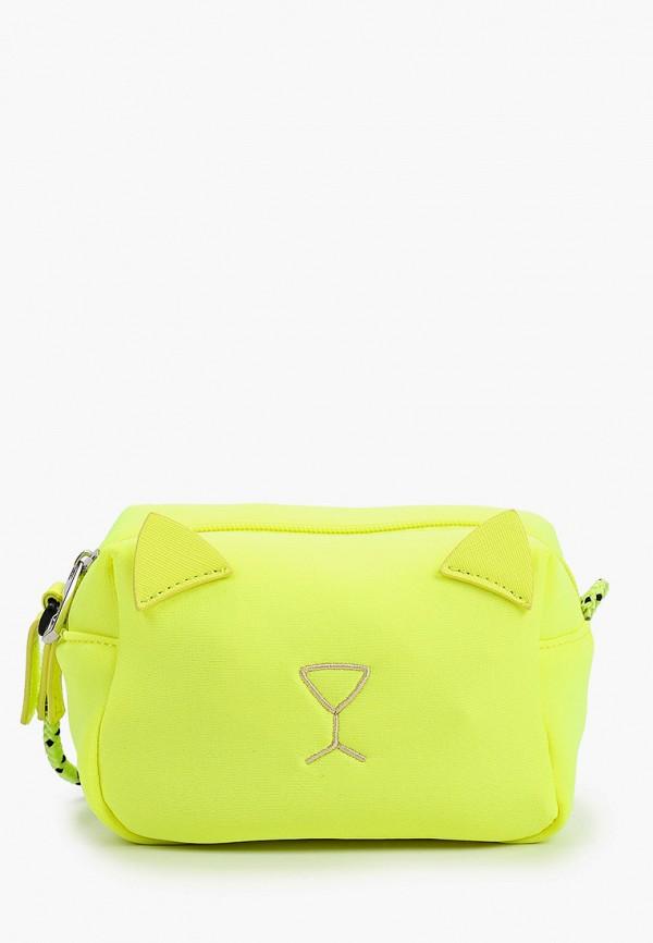 сумка united colors of benetton для девочки, желтая