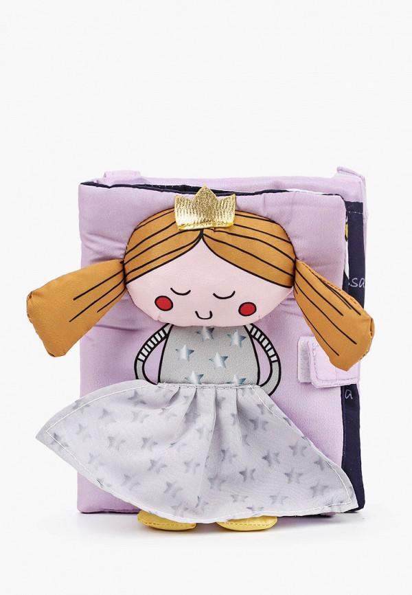 сумка united colors of benetton для девочки, фиолетовая