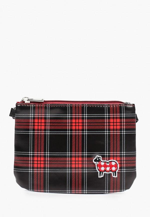 сумка united colors of benetton для девочки, черная