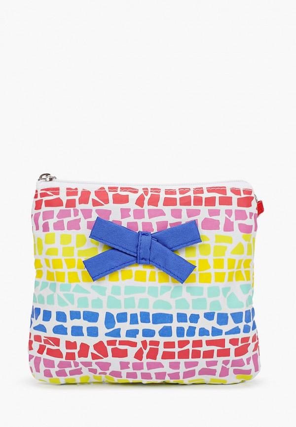 сумка united colors of benetton для девочки, разноцветная