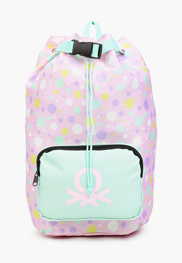 рюкзак united colors of benetton для девочки, фиолетовый